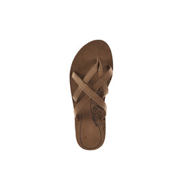 Teva Olowahu Leather - Sandales Femme - marron